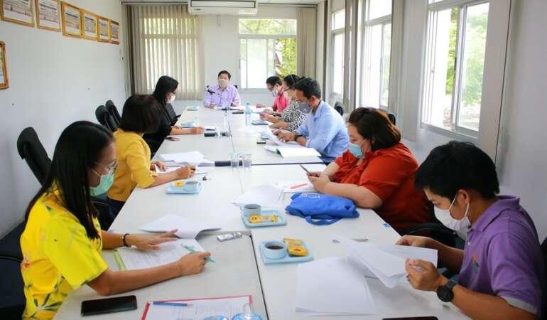 ประชุมคณะกรรมการบริหารหลักสูตร ประจำปีการศึกษา 2564