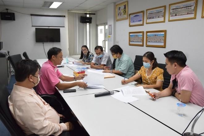 ประชุมการจัดทำหลักสูตรอนุปริญญา