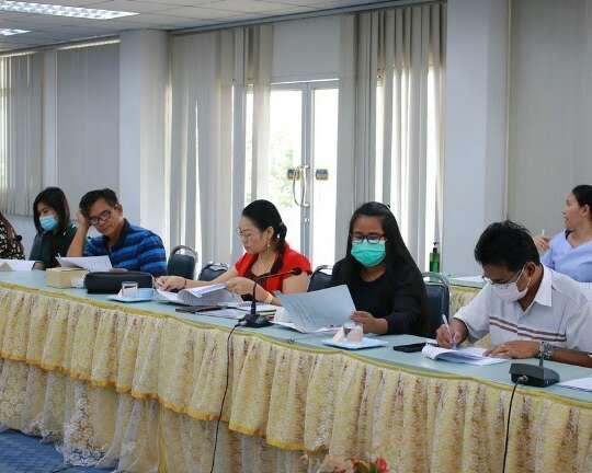 ประชุมคณะกรรมการ 5 ส + 3 ประจำปีงบประมาณ 2564