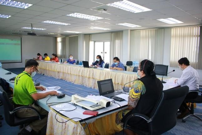 ประชุมการประเมินผลการปฏิบัติราชการ