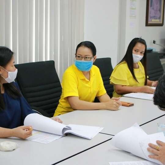 ประชุมคณะทำงานจัดตั้งศูนย์ความเป็นเลิศเฉพาะด้าน (Excellent Center)