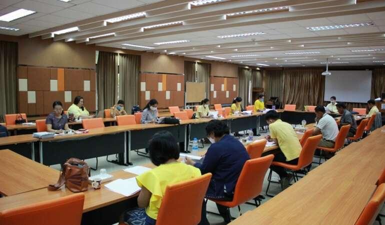 ประชุมคณะกรรมการบริหารคณะ ครั้งที่ 5/2563
