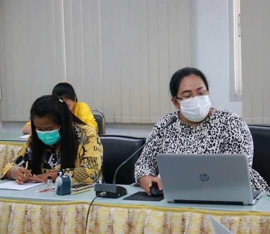 ประชุมหารือแนวทางการจัดทำงบลงทุนเพื่อเสนอของบประมาณประจำปี 2565