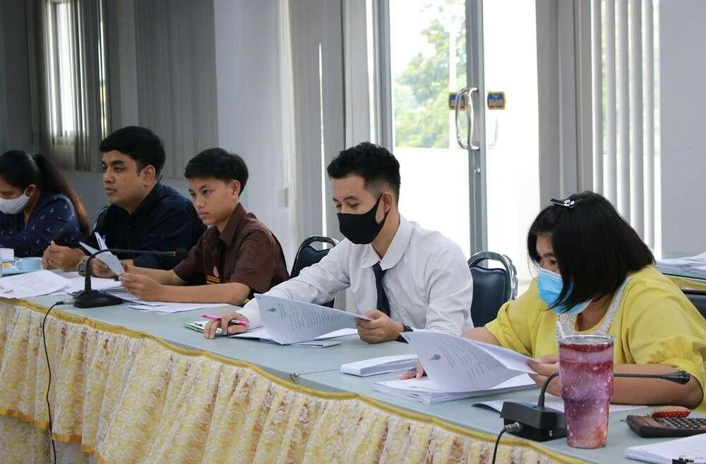ประชุมงานพัฒนานักศึกษา