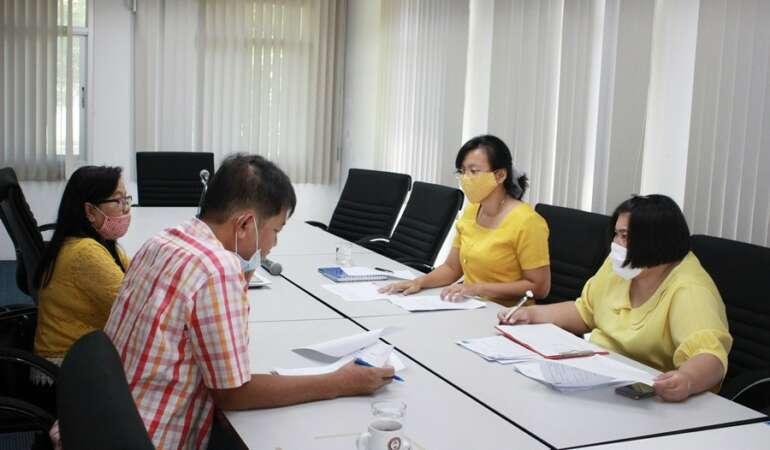 ประชุมคณะกรรมการพิจารณาทุน