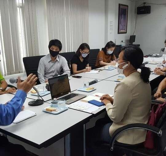 ประชุมวางแผนการทำงานร่วมกับสถานประกอบการ