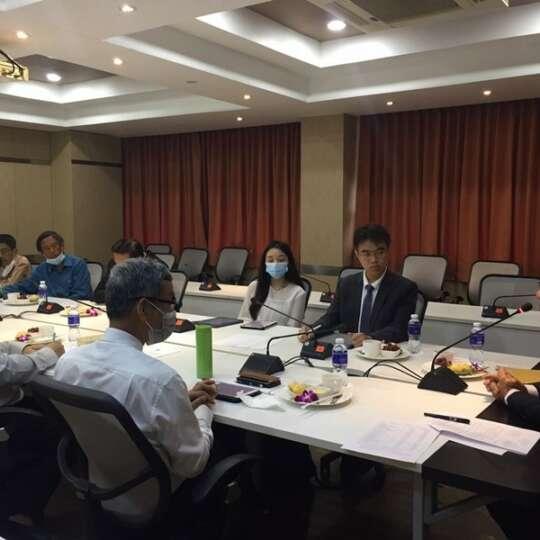 ประชุมคณะอนุกรรมการจัดหารายได้ด้านการเกษตรและอุตสาหกรรมเกษตร