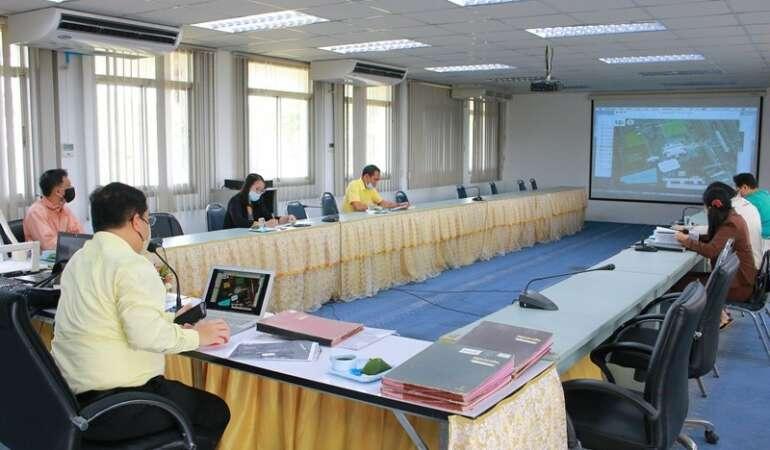 ประชุมเตรียมความพร้อมการจัดแสดงแปลงสาธิตนวัตกรรมทางการเกษตร