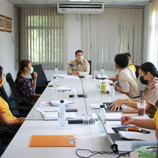 ประชุมผู้บริหารคณะเทคโนโลยีการเกษตรและอุตสาหกรรมเกษตร