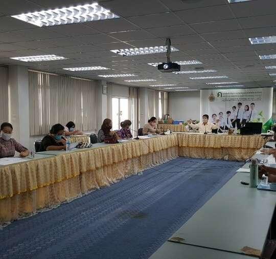 ประชุมหารือการปรับพื้นที่เตรียมการรับเสด็จ