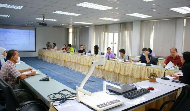 ประชุมเตรียมความพร้อมการจัดโครงการยกระดับผลสัมฤทธิ์ทางการเรียน