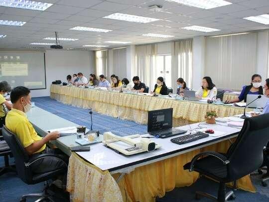 ประชุมคณะกรรมการบริหารคณะ ครั้งที่ 7/2563