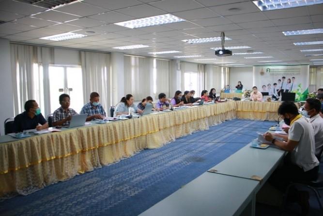 ประชุมคณะกรรมการบริหารคณะ ครั้งที่ 8/2563