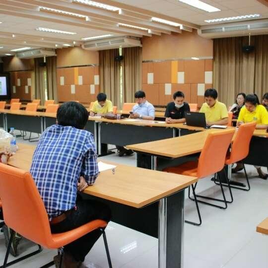 ประชุมนำเสนอหลักสูตรและชุดวิชา (Module)