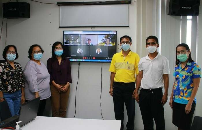 รับการตรวจประเมินประกันคุณภาพ สาขาวิชาเทคโนโลยีการเกษตร
